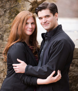 Deacon Matthew Taylor with wife Elizabeth