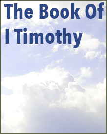 Book of I Timothy